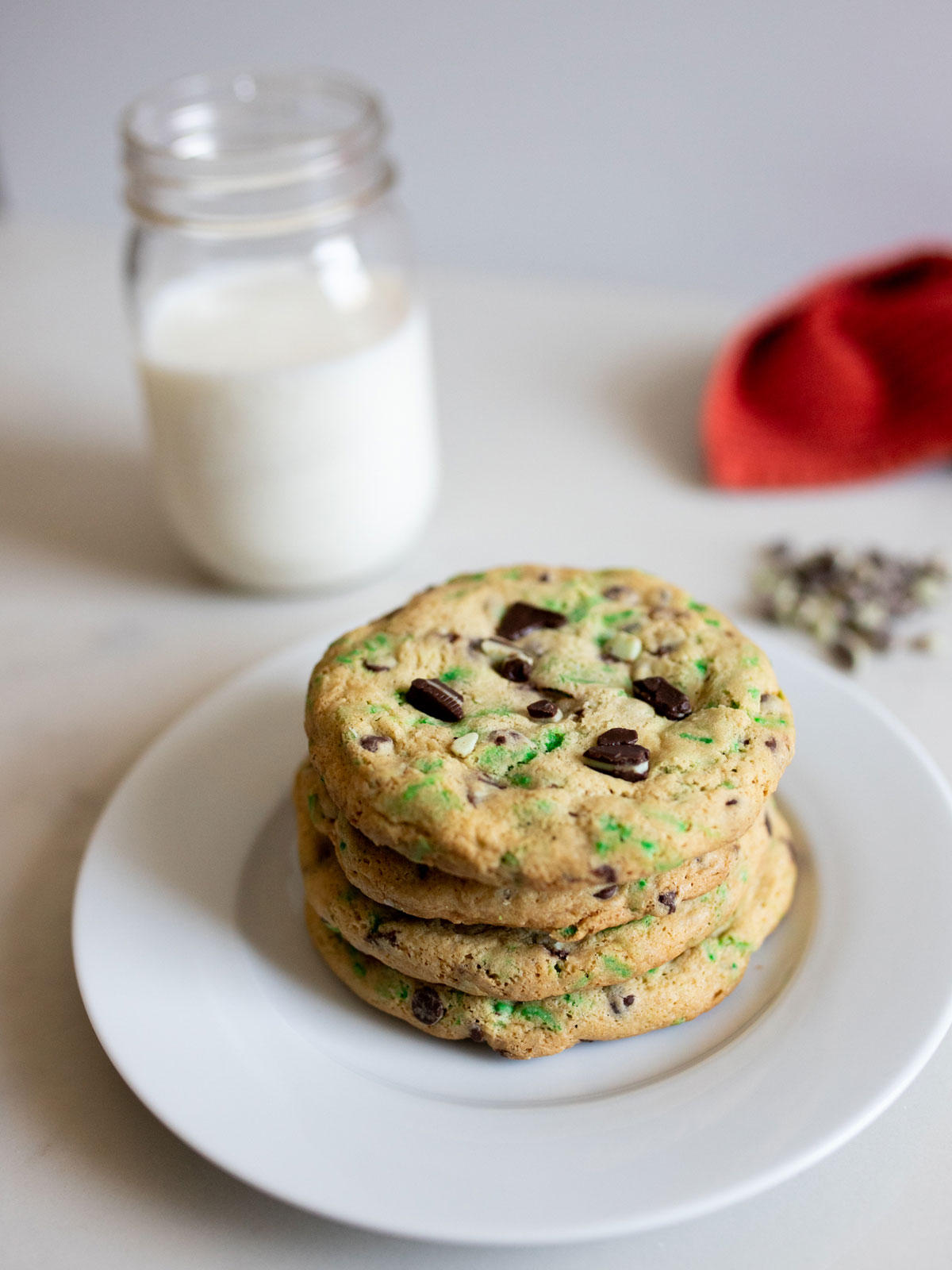 Grasshopper Cookies